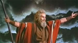 Non, je ne me prends pas pour Moïse.